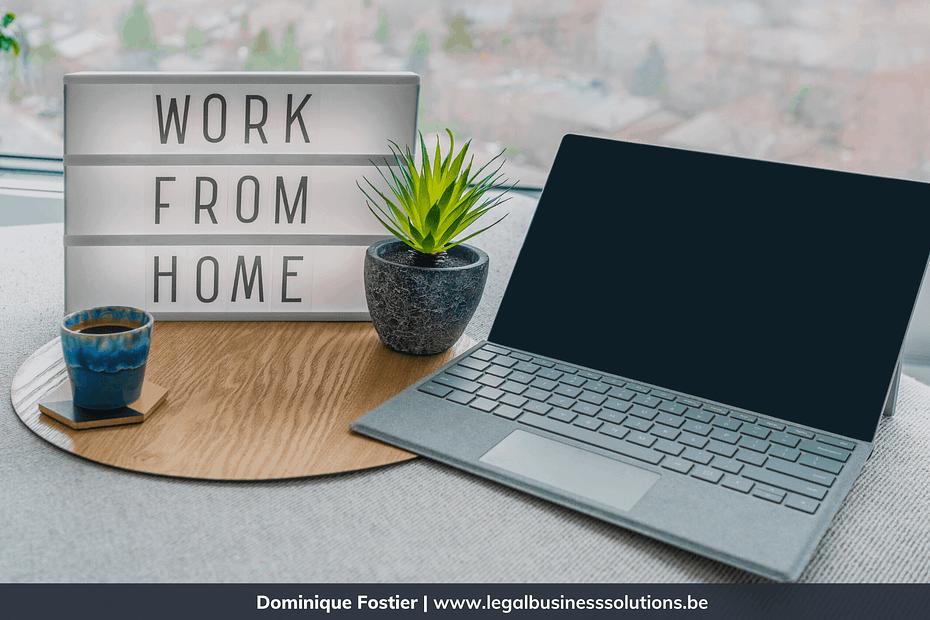 Telewerk vs privacy: kan JE werknemer(s) thuis controleren? Blog Cover